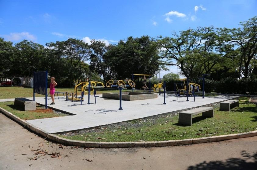 Vereador pede guia via QR Code para uso de aparelhos em academias ao ar livre em Limeira