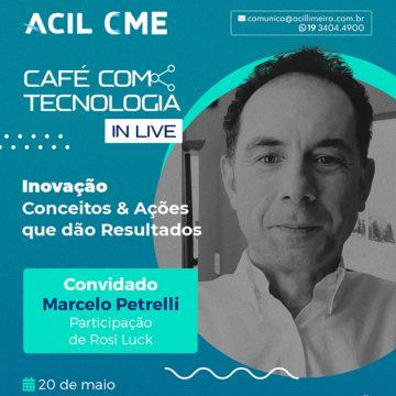 """Acil inicia nesta quinta-feira o """"Café com Tecnologia in live"""""""