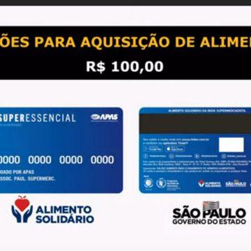 Estado anuncia cartão com R$ 100 para famílias em vulnerabilidade social