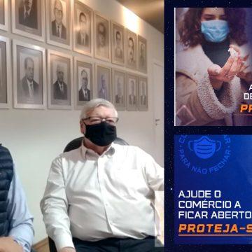 """Em momento crítico, Acil e Ciesp pedem envolvimento da sociedade na campanha """"Conscientizar para não fechar!"""""""