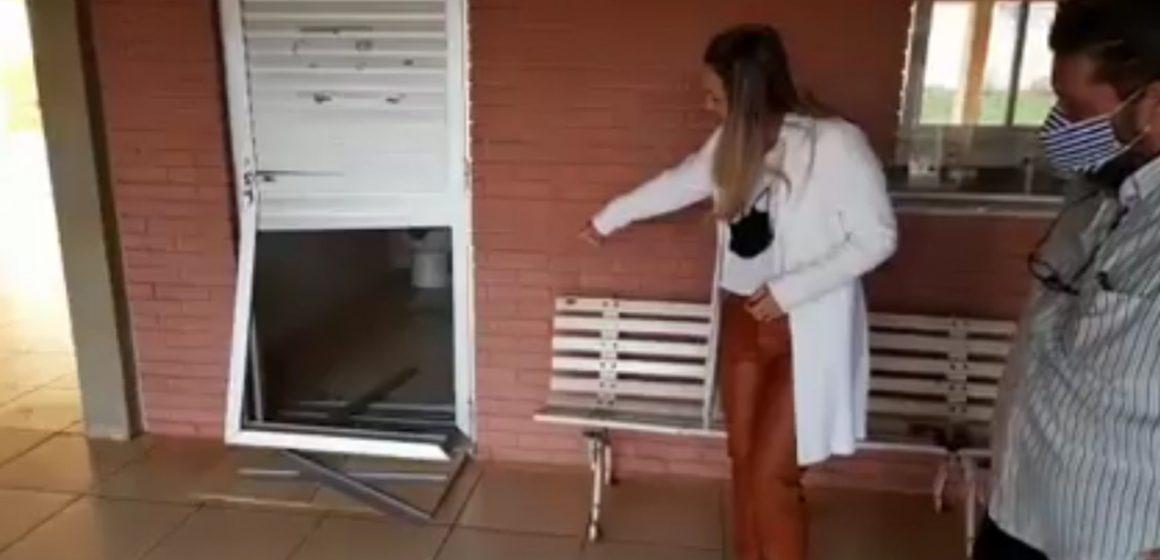 Velório de Iracemápolis é vandalizado