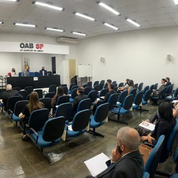 OAB Limeira faz nova entrega de carteiras e oficializa 18 novos operadores do Direito