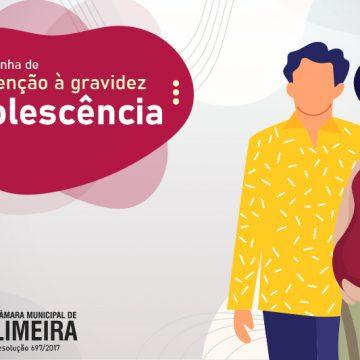 Câmara de Limeira faz campanha de prevenção à gravidez na adolescência