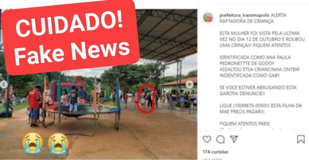 Vereador de Iracemápolis vai à polícia por uso indevido de imagem de sua família e fake news